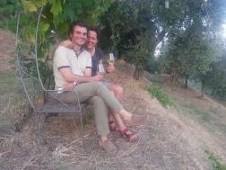 Con Agnese..