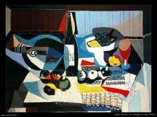 Picasso - La bottiglia di vino