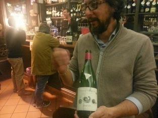 """Stefano Amerighi con il suo Syrah 2010 """"Apice"""""""
