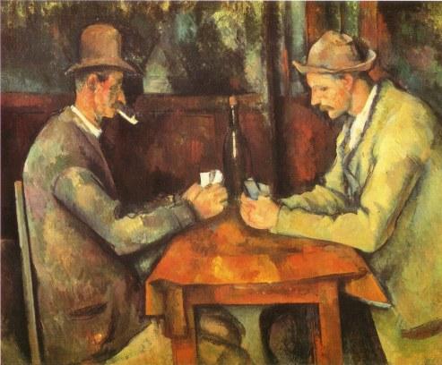 Cezanne - Giocatori di carte