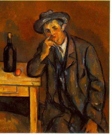 Cezanne - Il bevitore