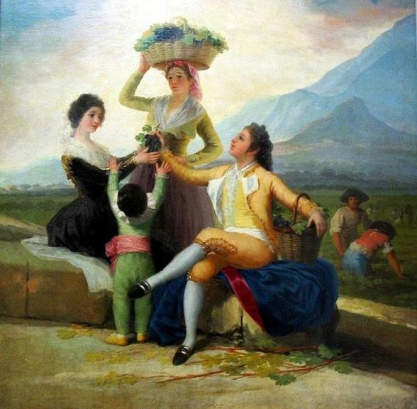 Goya - La vendemmia