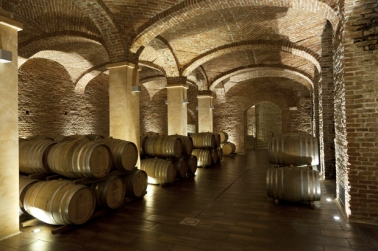 """""""Le Cattedrali"""", Cantine Gancia, Canelli, Langhe, Piemonte, Italy"""