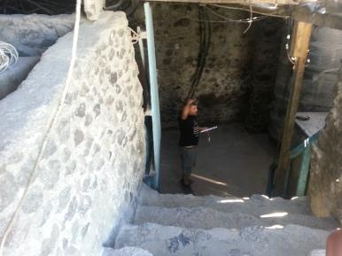 L'ingresso della Canava