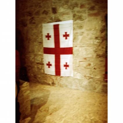 La bandiera della Georgia