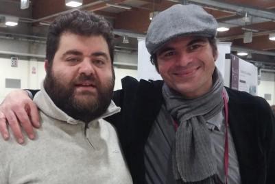 Dino Briglio Nigro (L'acino) con Vitedivino