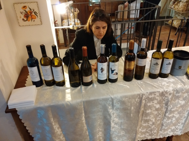 I vini bianchi della serata