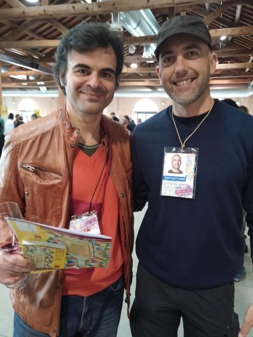 Con José Miguel Márquez