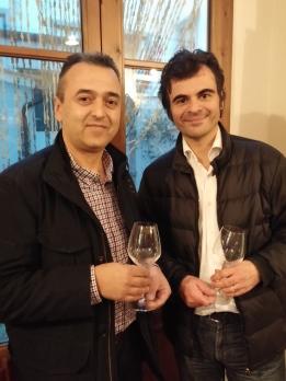 Con Yorgos Laderos (Idaia Winery).