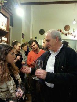 """""""L'artefice"""" della serata Haris Papandreou (Consolato Onorario Greco di Firenze) con Federica Lazaridi (Nico Lazaridi)"""
