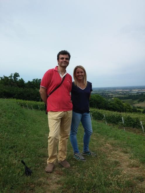 Con Lucia Ziniti