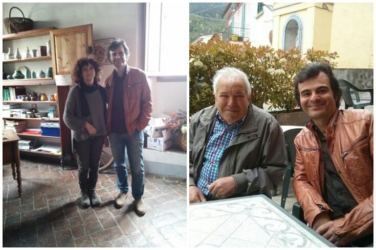 Con Rossella Bencini e con Alberto