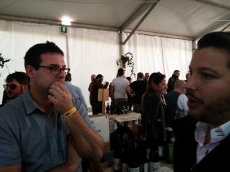 Andrea Pendin con Giovanni Segni.
