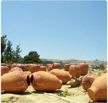 Le anfore sono costruite a Sifnos