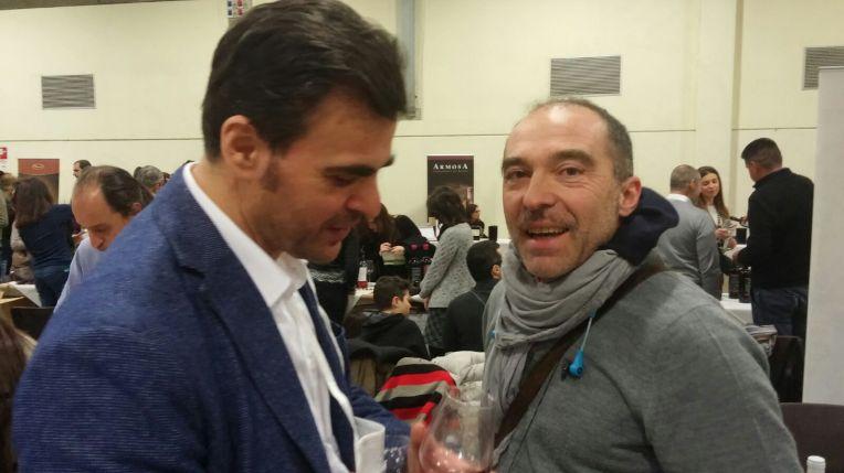 Con Mario Siragusa