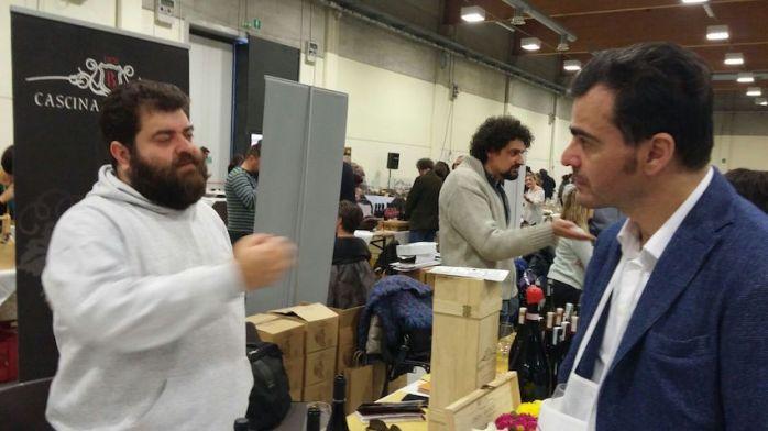 Con Dino Briglio Nigro (L'acino)