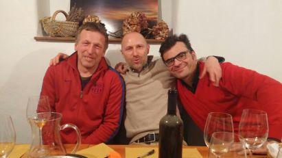 Con Walter Muraro e Janko Stekar