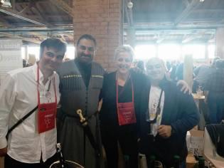Con John Okro e Luarsab Togonidze.