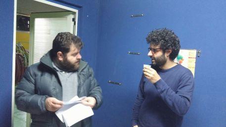 Dino Briglio Nigro e Antonello Canonico