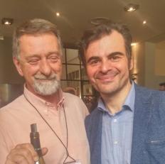 Con Paolo Mecconi