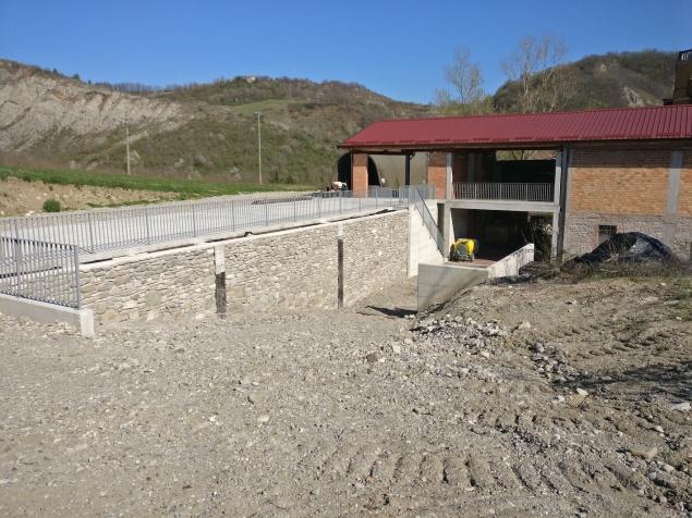 Cantina nuova in costruzione