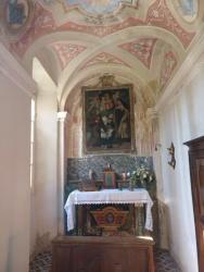 La cappella privata è ancora consacrata