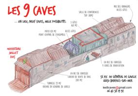 les 9 caves