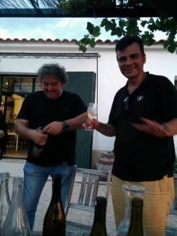 Con Manel Avinyo (Clos Lentiscus)