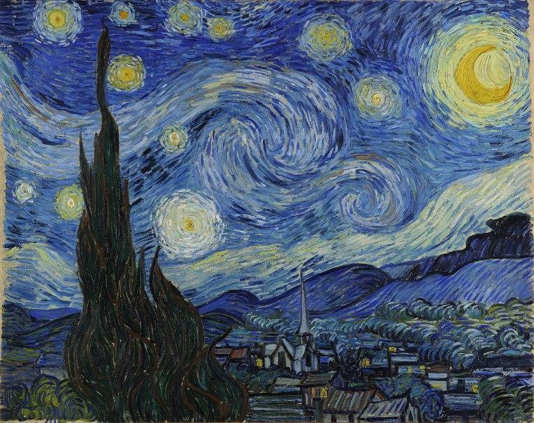 """""""Notte stellata"""" - Vincent van Gogh"""