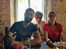 Shota con Agnese ed Emilia